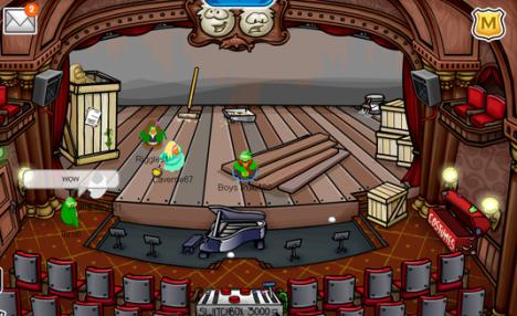 stage-empty