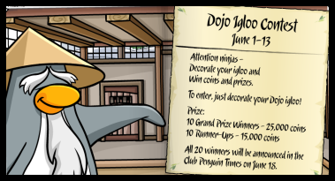 3 (Dojo Igloo Contest)